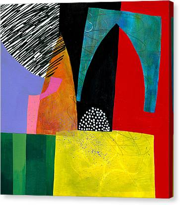 Shapes 5 Canvas Print by Jane Davies
