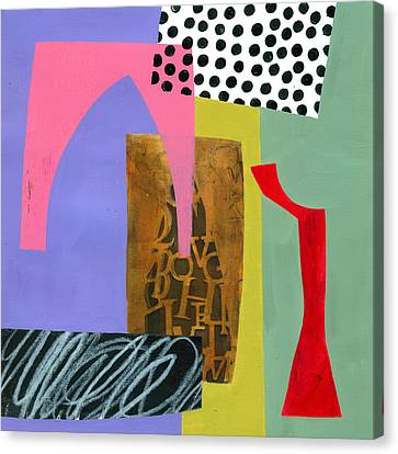 Shapes 6 Canvas Print by Jane Davies