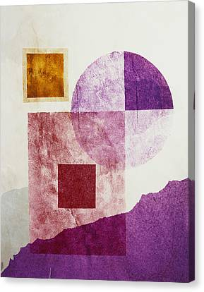 Shapes Canvas Print by BONB Creative
