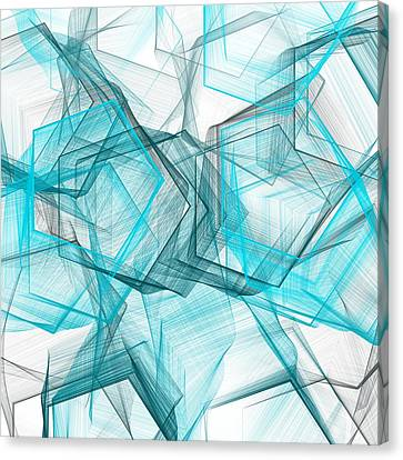 Shapes Galore Canvas Print by Lourry Legarde