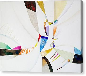 Shards Canvas Print by John Norman Stewart