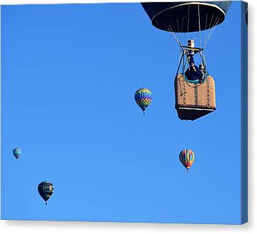 Share The Air Canvas Print by John Glass