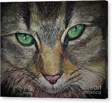 Sharna Eyes Canvas Print