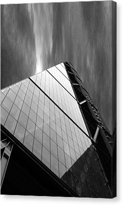 Sharp Angles Canvas Print by Martin Newman