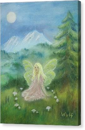Shasta Fairy Canvas Print