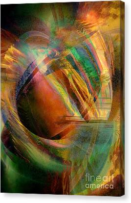 Shatter 6 Canvas Print