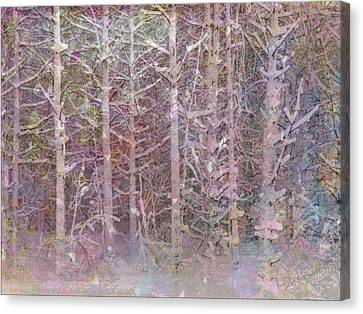 Shattered Forest Canvas Print by Linda Dunn