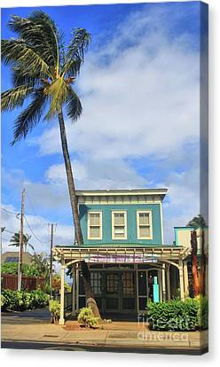 Canvas Print featuring the photograph Shave Ice by DJ Florek