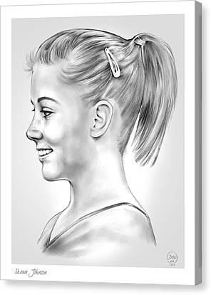 Shawn Johnson Canvas Print