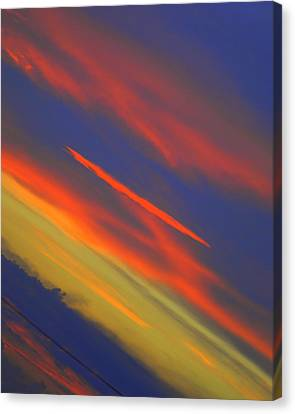 Shazaam Canvas Print by Frozen in Time Fine Art Photography