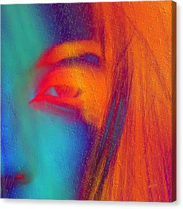 She Awakes Canvas Print