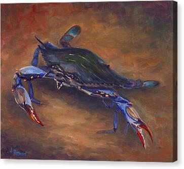 She Crab Canvas Print by Jeff Pittman
