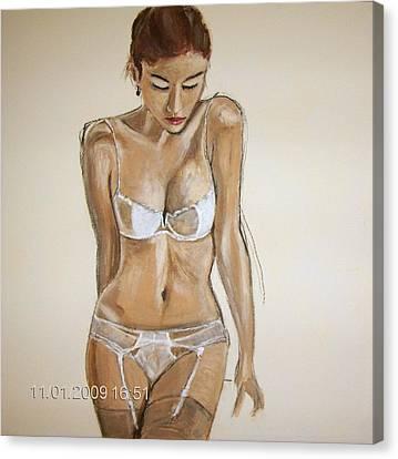 SHE Canvas Print by Gunter Kreil