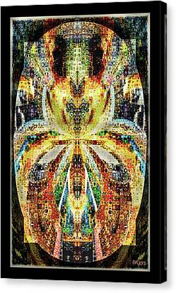 She Is A Mosaic Canvas Print