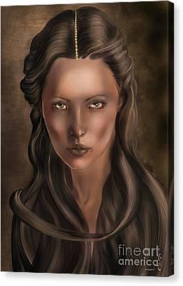 She... Lilit... Canvas Print