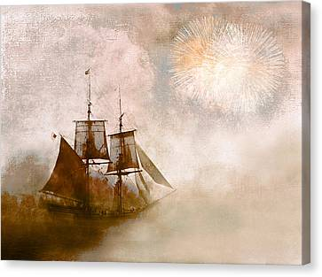 She Returns Home Canvas Print by Jeff Burgess
