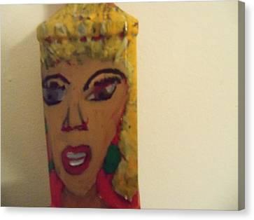 She Rocks Canvas Print by Rhonda Jackson
