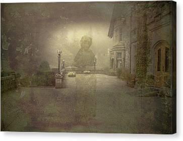 She Walks At Night Canvas Print