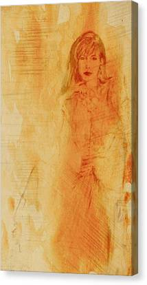 She Was Canvas Print by Wendy Landkammer