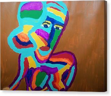 She Watches Canvas Print by Rhonda Jackson