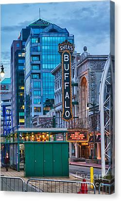 Urban Exploration Canvas Print - Shea's Buffalo by Chuck Alaimo
