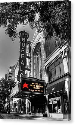 Shea Canvas Print - Shea's Theater Buffalo by Brian Mcmillen