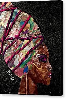 Sheba Canvas Print