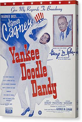 Sheet Music Cover, 1942 Canvas Print by Granger