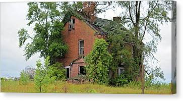 Sheffield House Panorama Canvas Print by Bonfire Photography