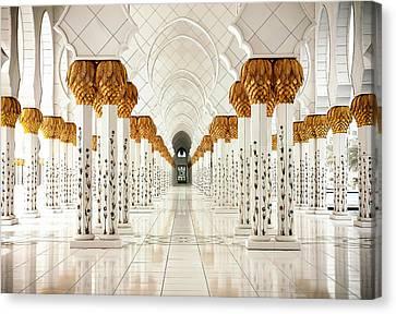 Sheikh Zayed Mosque - Abu Dhabi Canvas Print