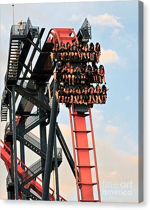 Sheikra Up Close Canvas Print