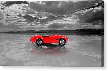 Shelby Cobra 1965 Canvas Print by Mark Rogan