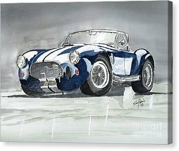 Shelby Cobra Canvas Print by Eva Ason