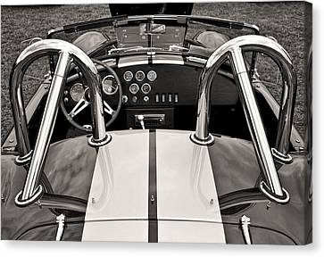 Shelby Cobra Canvas Print by Scott Wood