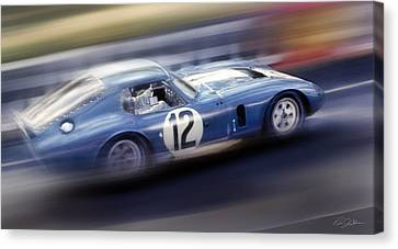 Shelby Daytona Canvas Print by Peter Chilelli