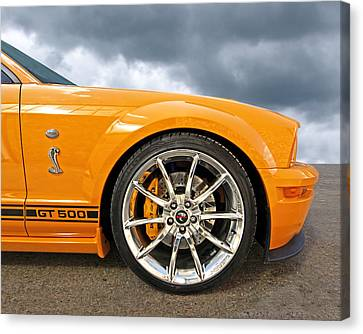 Shelby Gt500 Wheel Canvas Print