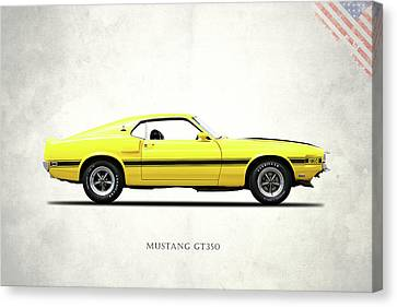 Shelby Mustang Gt350 1969 Canvas Print