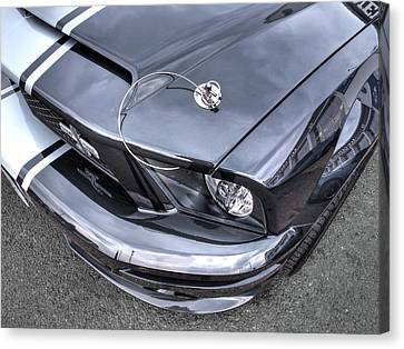 Shelby Super Snake At The Ace Cafe London Canvas Print