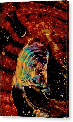 Shell Space Canvas Print by Gina O'Brien