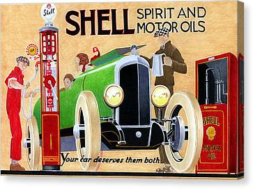 Shell Spirit Canvas Print by Lyle Brown