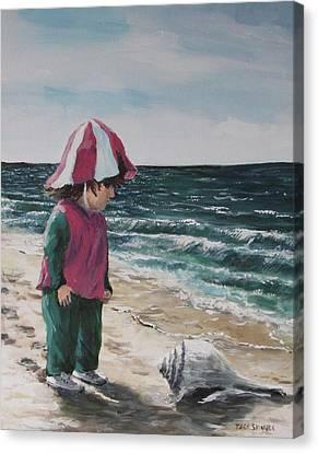 Shello Canvas Print