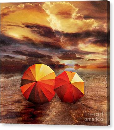 Shelter Canvas Print by Jacky Gerritsen