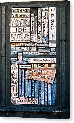 Shelved - 5 Canvas Print
