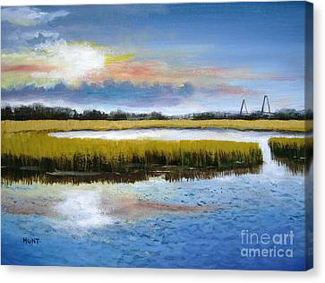 Shem Creek Sky Canvas Print