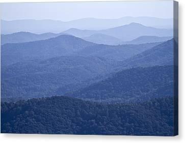 Shenandoah Mountains Canvas Print by Pierre Leclerc Photography