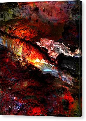 Canvas Print featuring the photograph Sheol by Ken Walker