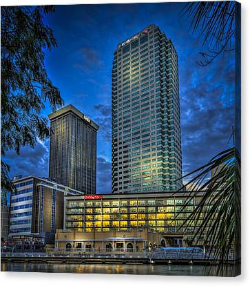 Sheraton Water Front Canvas Print by Marvin Spates