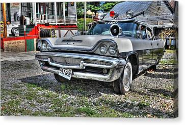 Sheriff Car 1 Canvas Print by Todd Hostetter