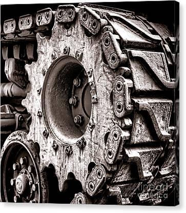 Sherman Tank Drive Sprocket Canvas Print