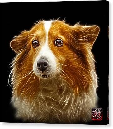 Shetland Sheepdog Dog Art 9973 - Bb Canvas Print by James Ahn